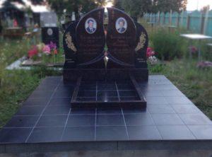 Красивые двойные памятники фото