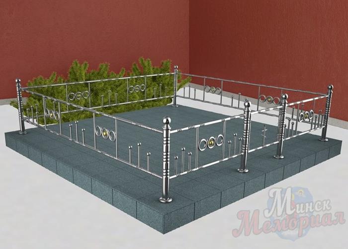 Купить ограду из нержавеющей стали